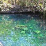 Maravilloso cenote de Tankah