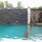 the pool of Puri Garden Hotel