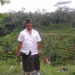 Me at Tegallalang rice teraces, Bali