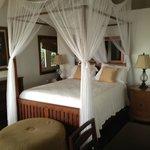 Master Bedroom in Villa Caterina