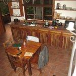 """Kitchen in """"the Casa."""""""