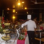 Beautiful breakfast,luch & dinner buffets