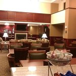 breakfast buffet area
