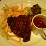 Australian Tenderloin Steak with Barbecue Sauce