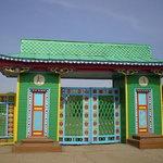 Ворота этнографического музея