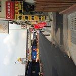 LRT Parsar Seni from hotel.