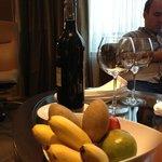 fruits dans la chambre