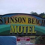 Stinson Beach Motel sign