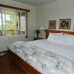 Bedroom in bungalow 1