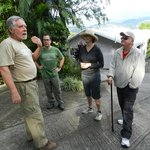 Learning about coffee at The Coffee Estate Inn