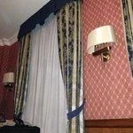 un particolare della camera