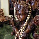 Foyer Krishna with Flute