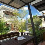 Relax on your large balcony