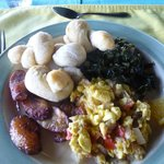 Wonderful jamaican breakfast