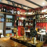 Real ales, whiskeys, wine & soft drinks from the bar