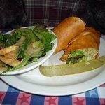 fajita sandwich