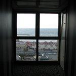corridor French window