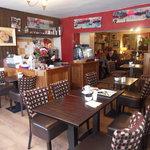 The layout of Camo's Restaurant Cahersiveen