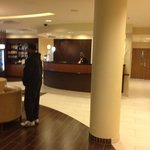 lobby was clean modern and staff was friendly.