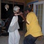 Dancing to Rake n Scrape