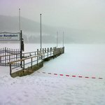 Lake Titisee frozen over