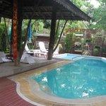 poolside- warning-no heat in pool