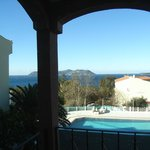 vista dalla camera: di fronte isola di Kastellorizzo
