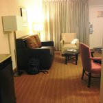 Typical Embassy Suites- relatively spacious
