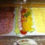 Wurst Käse Gemüse