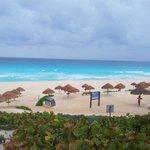 spiaggia di playa del carmen