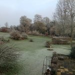 A frosty morning ovrlooking Spinney House gardens