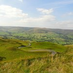 View from Mamtor towards Edale