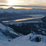 View from the top facing Turnagain Arm
