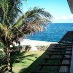 Oceanview Room 205 from balcony