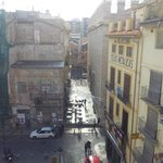 view towards La Lonja, the Plaza Doctor Collado below