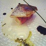 Main course : Filet d'Omble Chevalier