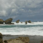 Bathsheba rock formation