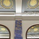 plafond à caissons hall carlton