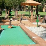 Putt-Putt course near to the Cabanas complex and Lake