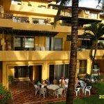 Spacious balcony's Los Tules