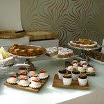 dessert and salad buffet