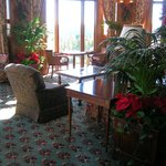 Biltmore Estates Inn, Inside Lobby/Lounge area during Christmas Season