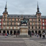 Plaza Mayor. Madrid.