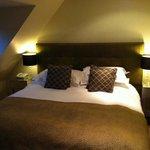 Allestree cottage bedroom.