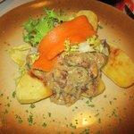 poulet moutarde, thym, oignon...etc