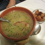 soupe avec du lard...etc