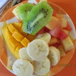 We had this every morning at Amar Inn