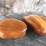ancient kauri lidded boxes