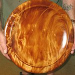 Ancient Kauri platter by Rick Taylor