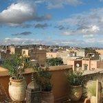 Vue imprenable sur la la Medina